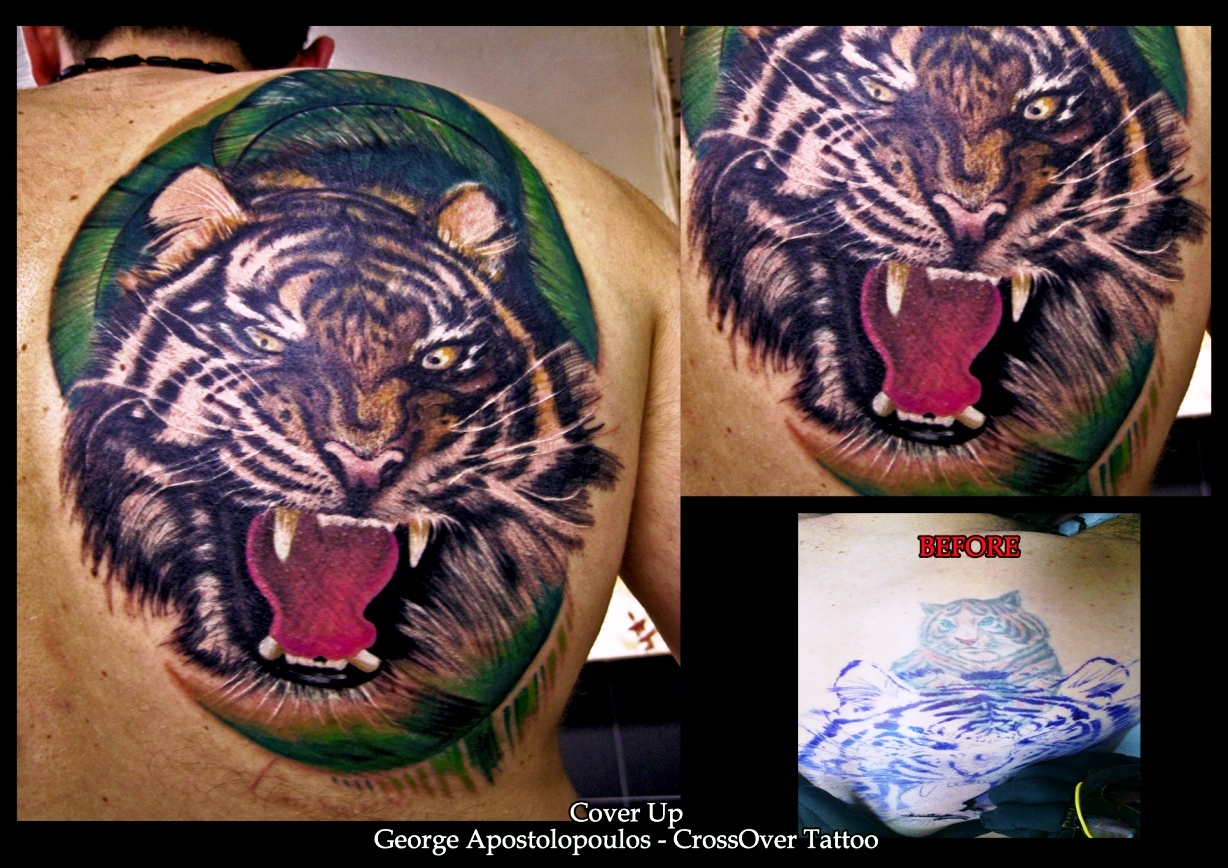 Tiger Cover up