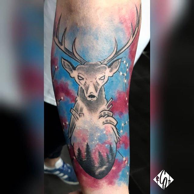 Custom color tattoo_#ink #inked #patrast