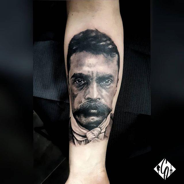 A portrait of Emiliano Zapata that I did