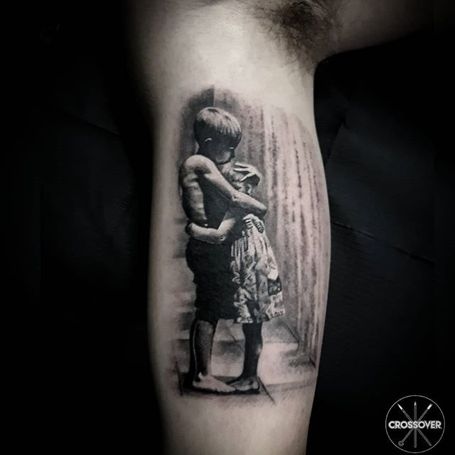 Family tattoo. Pure love