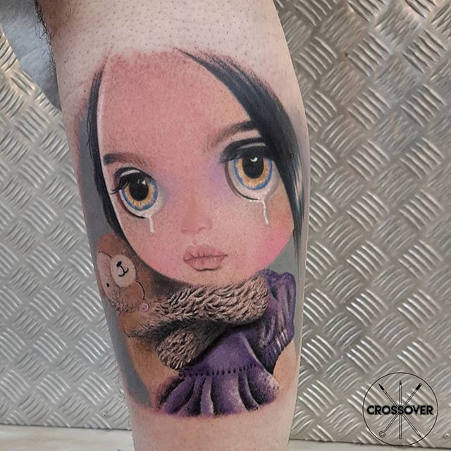 Blythe Doll Tattoo.Μy original idea