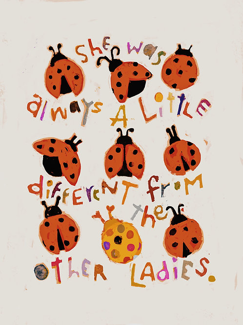 little ladies print