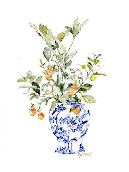 Giner Jar Print