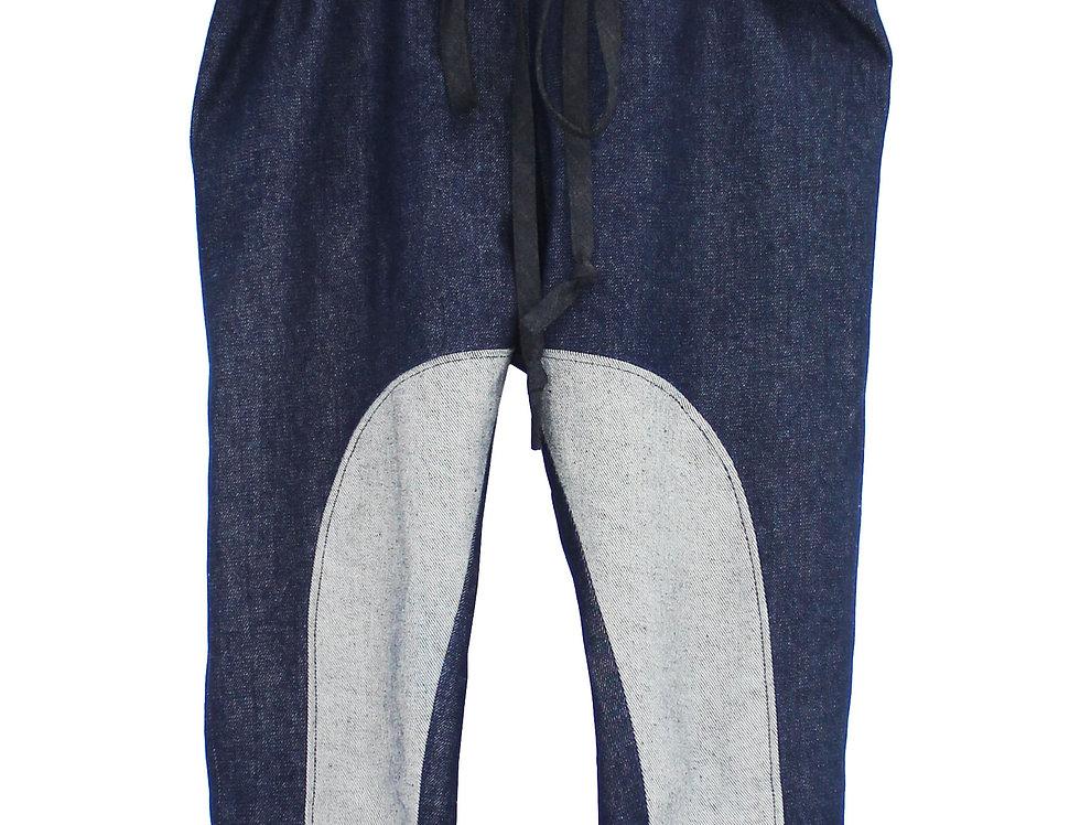 Contro-Denim Cropped Pant