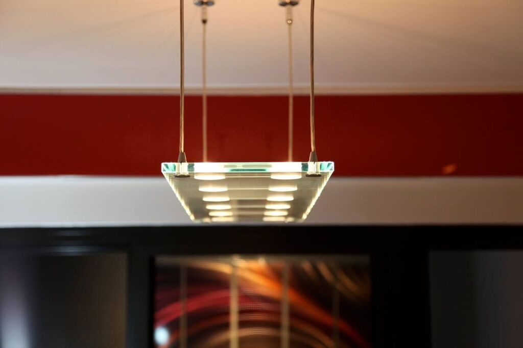 Glass LED Pendant