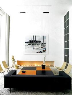 IT Pro Photo Shoot  - Fireplace - Living Room