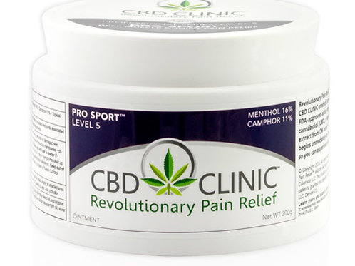 CBD CLINIC Level 5 - Pro Sport Deep Muscle & Joint Pain - 44g