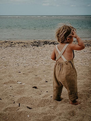 the SIMPLE FOLK || linen overall