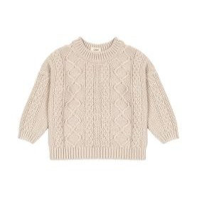 LOOM KNITS  || cable knit sweater