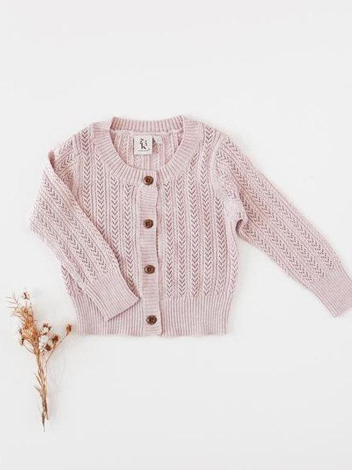 Penny cardigan | marle pink