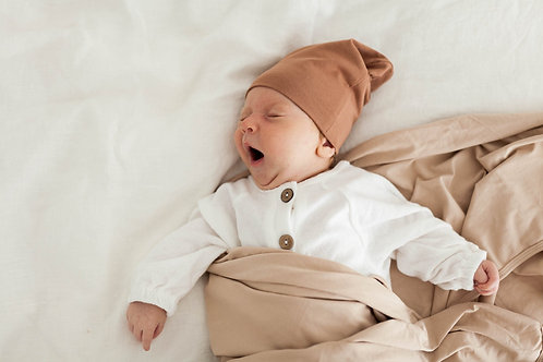 Jersey Swaddle   Nude