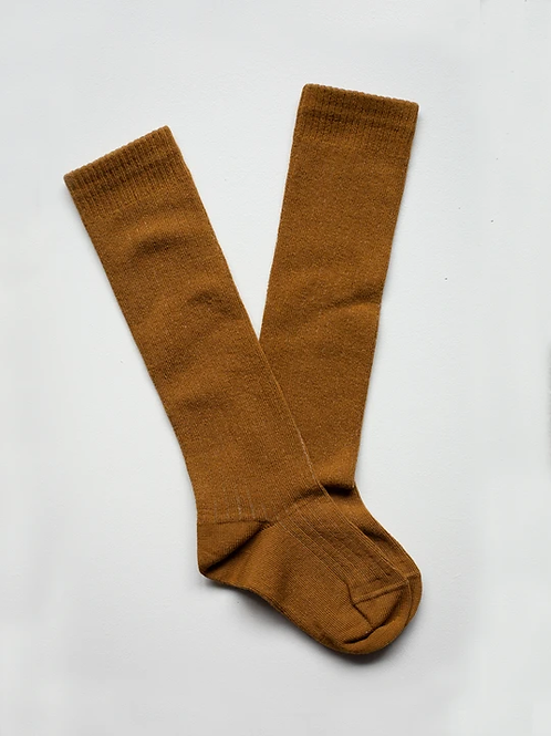 The Ribbed Knee Socks | 2 Colours