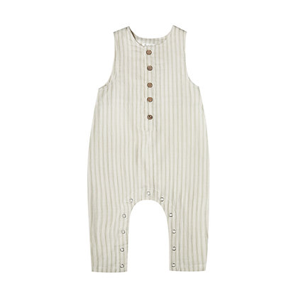 RYLEE and CRU || Button Jumpsuit | Almond