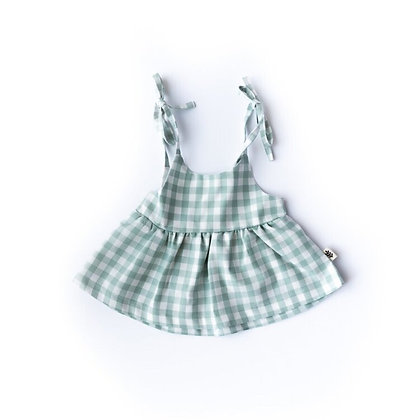 Les Petites Natures || Gingham Dress