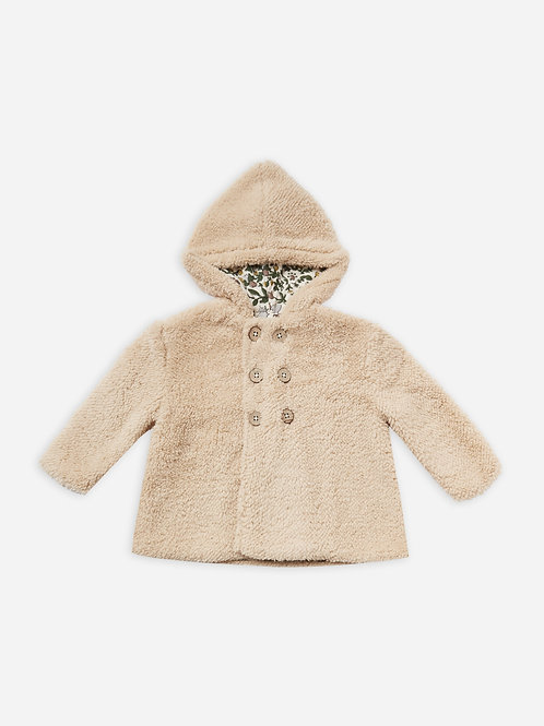 Double Breasted Coat | Oat