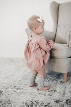 The Maple Collection Maria Romper | Oatmeal