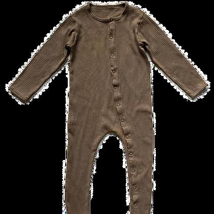 the SIMPLE FOLK || ribbed pajama | walnut