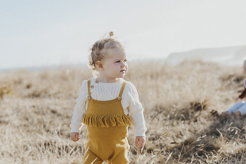 Frill Playsuit Harvest Gold