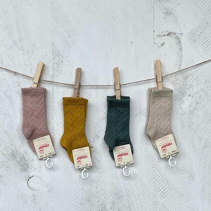 Cóndor    Openwork Knee Sock