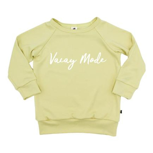 Vacay Mode Pullover| Pineapple