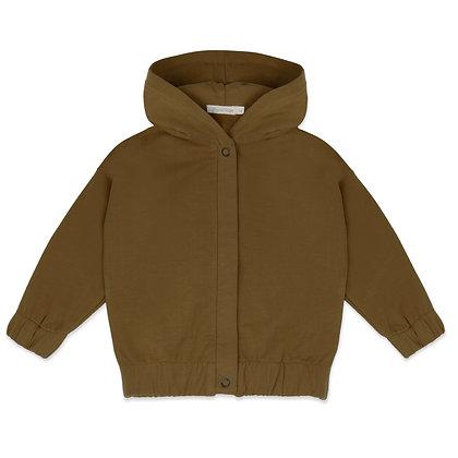 Phil & Phae    sweat jacket with hood