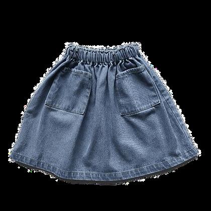 the SIMPLE FOLK    denim skirt