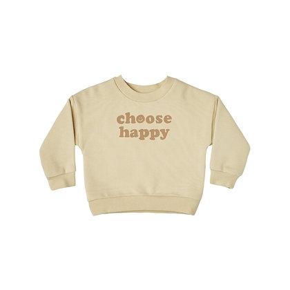 RYLEE and CRU || Happy Sweatshirt