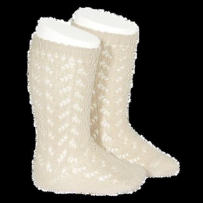 Cóndor || Openwork Knee Socks