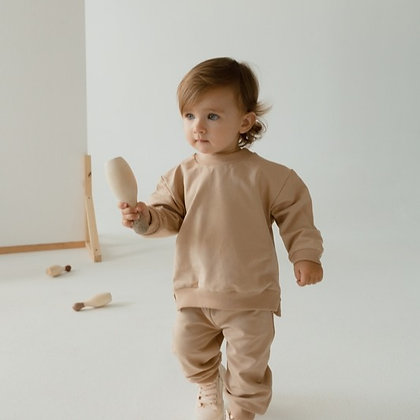 LOOM KNITS || french terry jogger set |  2 colors