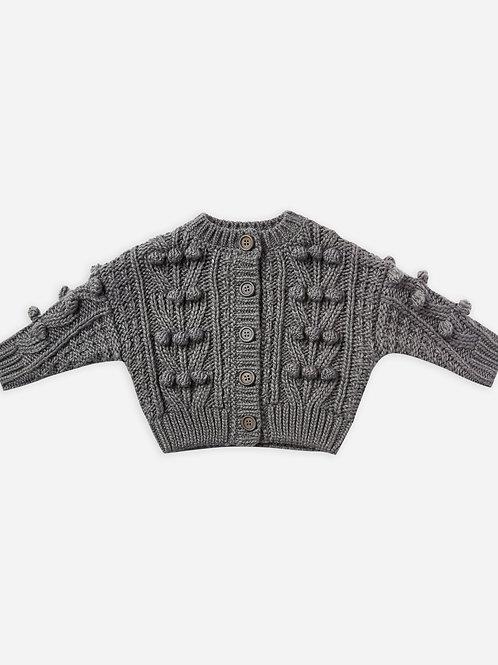 Bobble Sweater   Washed Indigo
