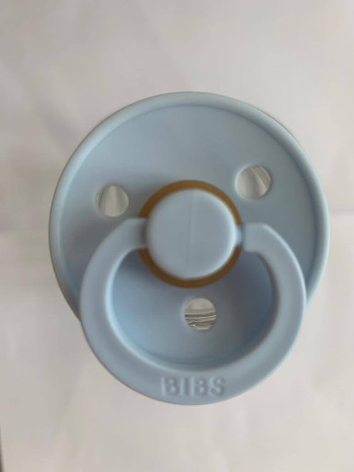 Bibs Pacifier 2-pack | Baby Blue