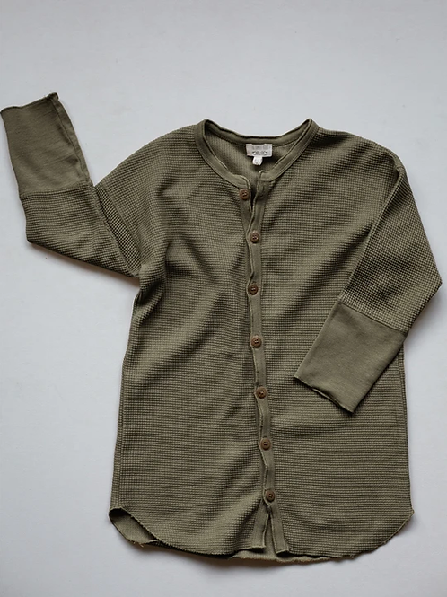The Shirt Dress | Olive