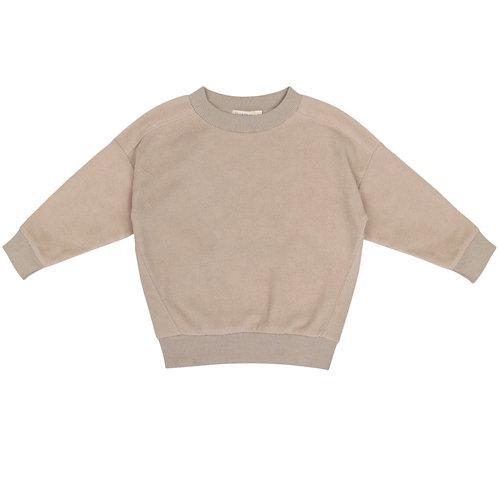 Oversized Teddy Sweater | Straw