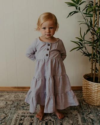 Little Deer Handmade || Linen Paris Dress | 3 Colours