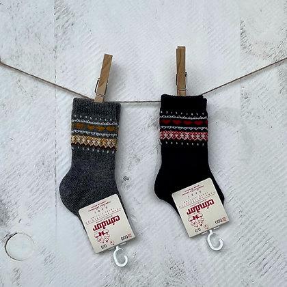 Cóndor || Nordic Border Knee Sock