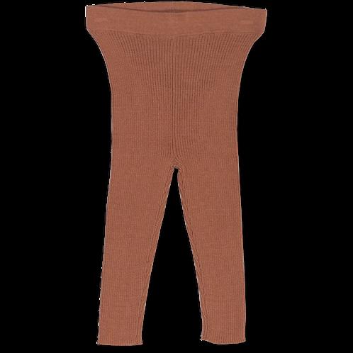 Ribbed Essential Legging   Terracotta Rose