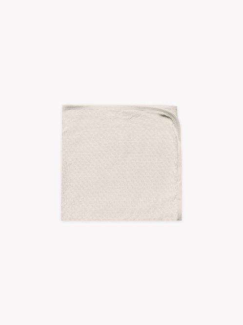 Pointelle Baby Blanket | Pebble