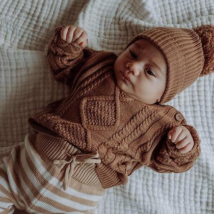 BUCK & BAA    Chocolate Sweater