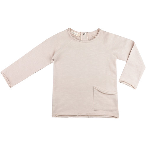 Raw Edged Sweater | Oatmeal