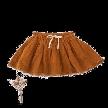 Muslin skirt   Antique Gold