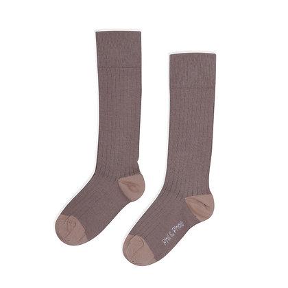 Phil & Phae || rib knee sock