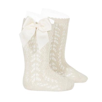 Cóndor || Openwork Bow Knee Socks