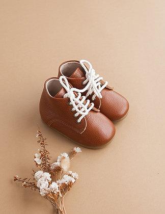 Kari Leather Boots | Hazelnut