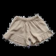 the SIMPLE FOLK      frill linen short