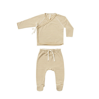 Quincy MAE ||  Footed Pant Set | + more colours