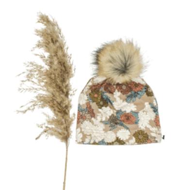 Pom Pom Beanie | Wildflower