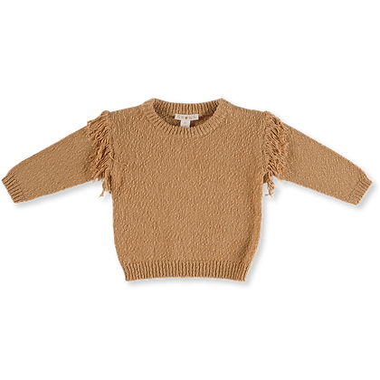 GROWN Australia || Frill Sweater