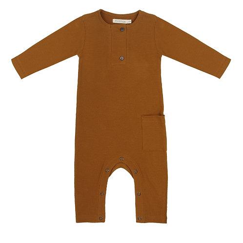Rib Henley Jumpsuit | + More Colours