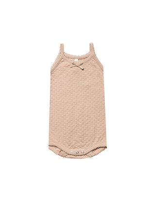 Quincy MAE || Pointelle Tank Onesie | + more colours