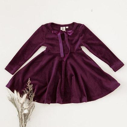 Karibou Kids    Elle Velour Dress